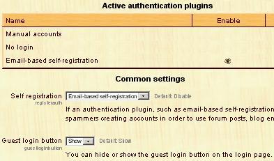 user signup