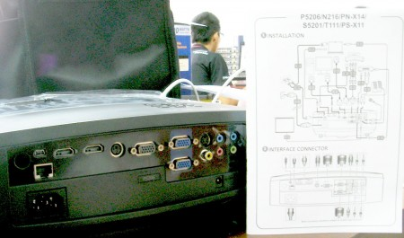 ACER Projector รุ่น P5206