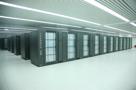The Tianhe-1A Supercomputer, located at National Supercomputer Center, Tianjin