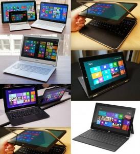 windows 8 ในอุปกรณ์ต่าง ๆ