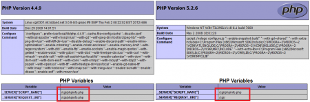 PHP 5.2.6 & PHP 4.4.9