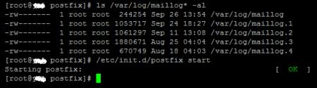postfix for SMTP service