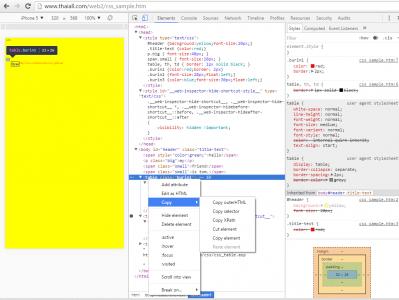 CSS : Cascading Style Sheets กลายเป็นข้อควรรู้ที่จำเป็นสำหรับนักพัฒนาเว็บไซต์อย่างหลีกเลี่ยงไม่ได้