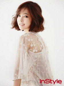 ภาพตัวอย่างผมสั้น สาวคนนี้ชื่อ Jin Se Yeon เกิด 2537