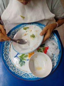 การทานอาหารของผู้สูงอายุ