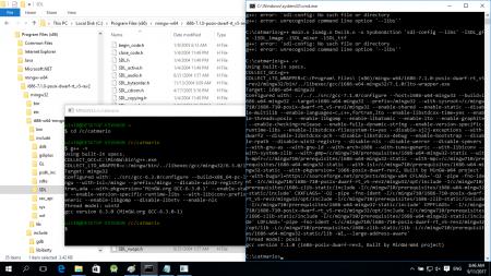 มี msys 2 ตัว ก็มี g++ คนละ version