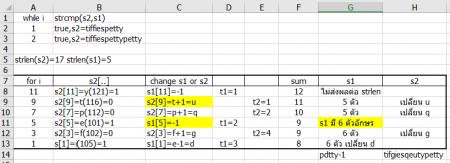ตอน i=9 ไล่ ascii ผิดครับ ภาพนี้แก้ไข