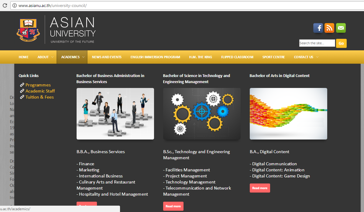 ปิดกิจการมหาวิทยาลัยอาเชียน (Asian University)