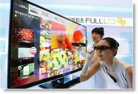 LG LX9500 3D TV