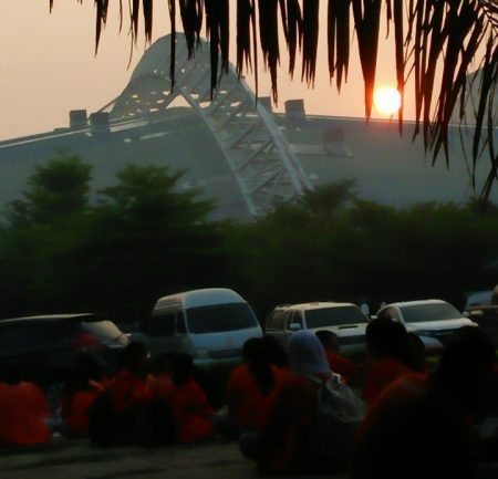 พระอาทิตย์ขึ้นที่ มธ.ศูนย์รังสิต